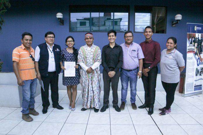 Nuevo Secretario Regional de la Juventud de Ucayali