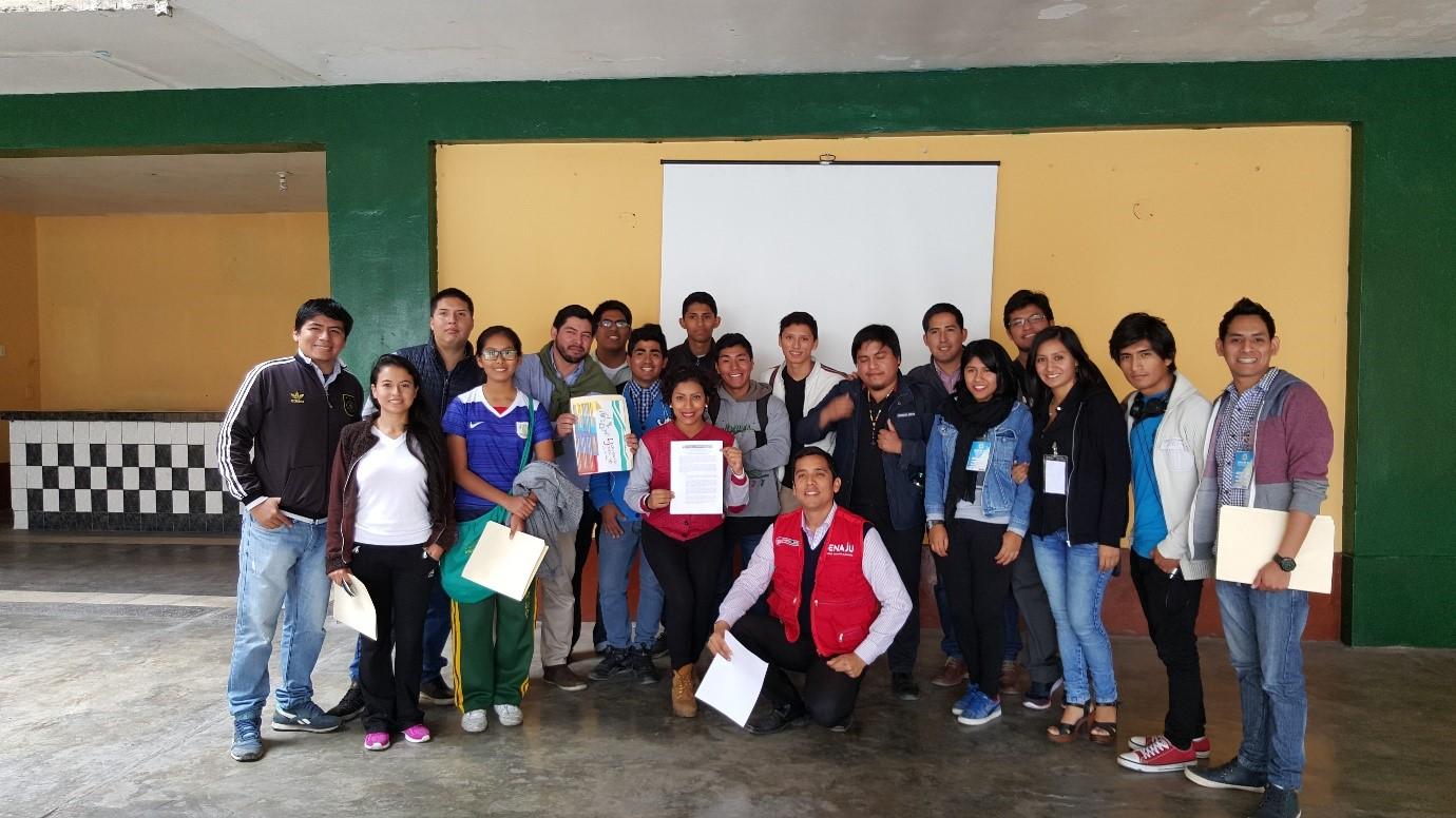 Jóvenes del Callao eligieron a sus delegados para el VI Congreso Nacional de Juventudes
