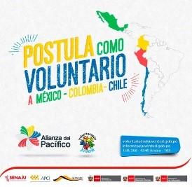 48 jóvenes de cuatro países fueron seleccionados para participar en voluntariado de  la Alianza del Pacífico