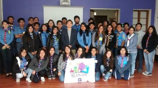 Senaju participa en conversatorio juvenil de Asociación de Scouts del Perú