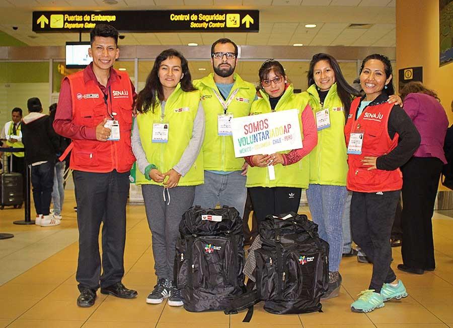 Jóvenes voluntarios peruanos de la Alianza Pacífico viajan a Colombia