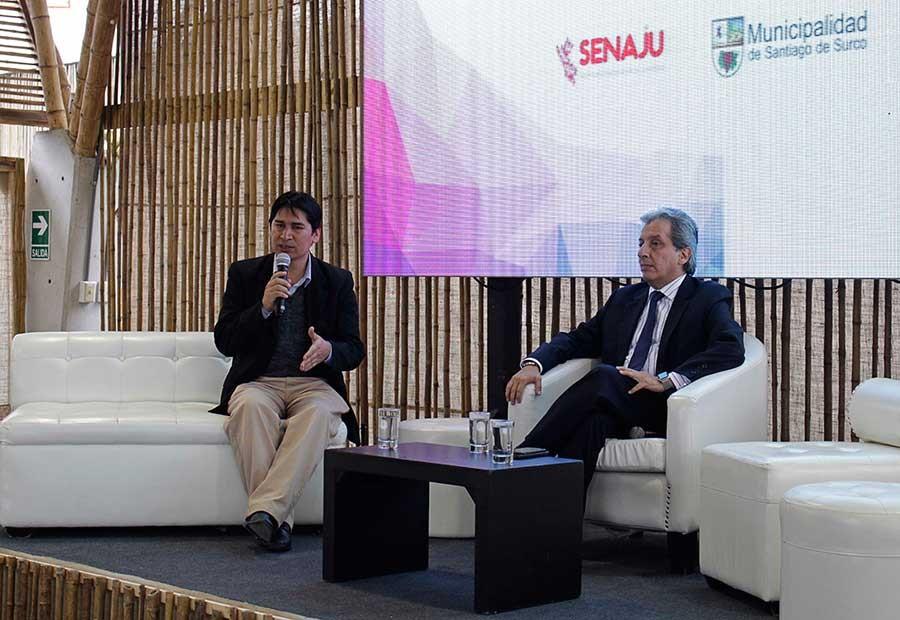 Senaju participó en la Semana del Compromiso Climático 2016 organizado por el MINAM