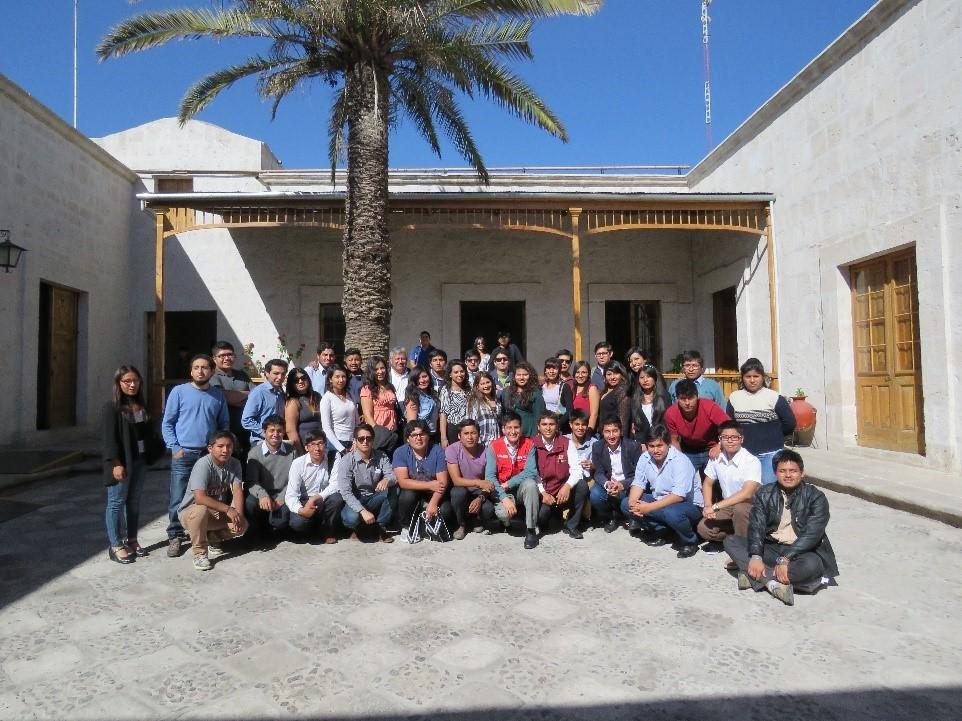Jóvenes de Arequipa eligieron a sus delegados para el VI Congreso Nacional de Juventudes