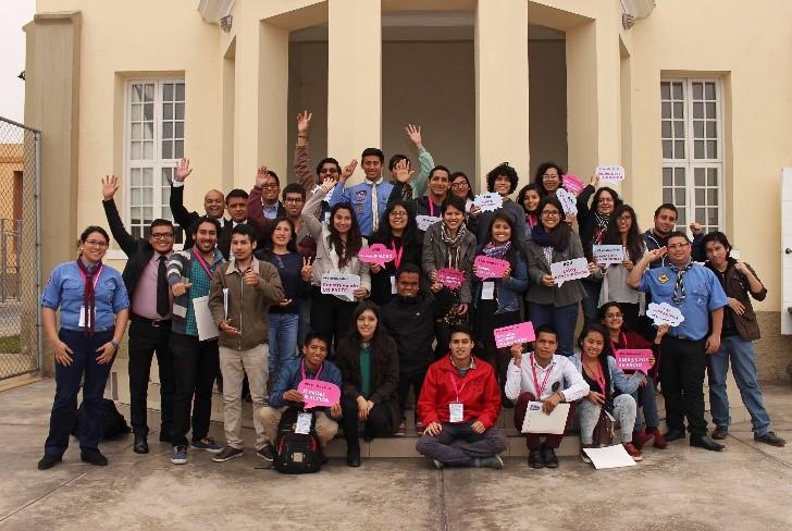 Realizan Foro Nacional de Juventud en el Perú con participación de representantes juveniles