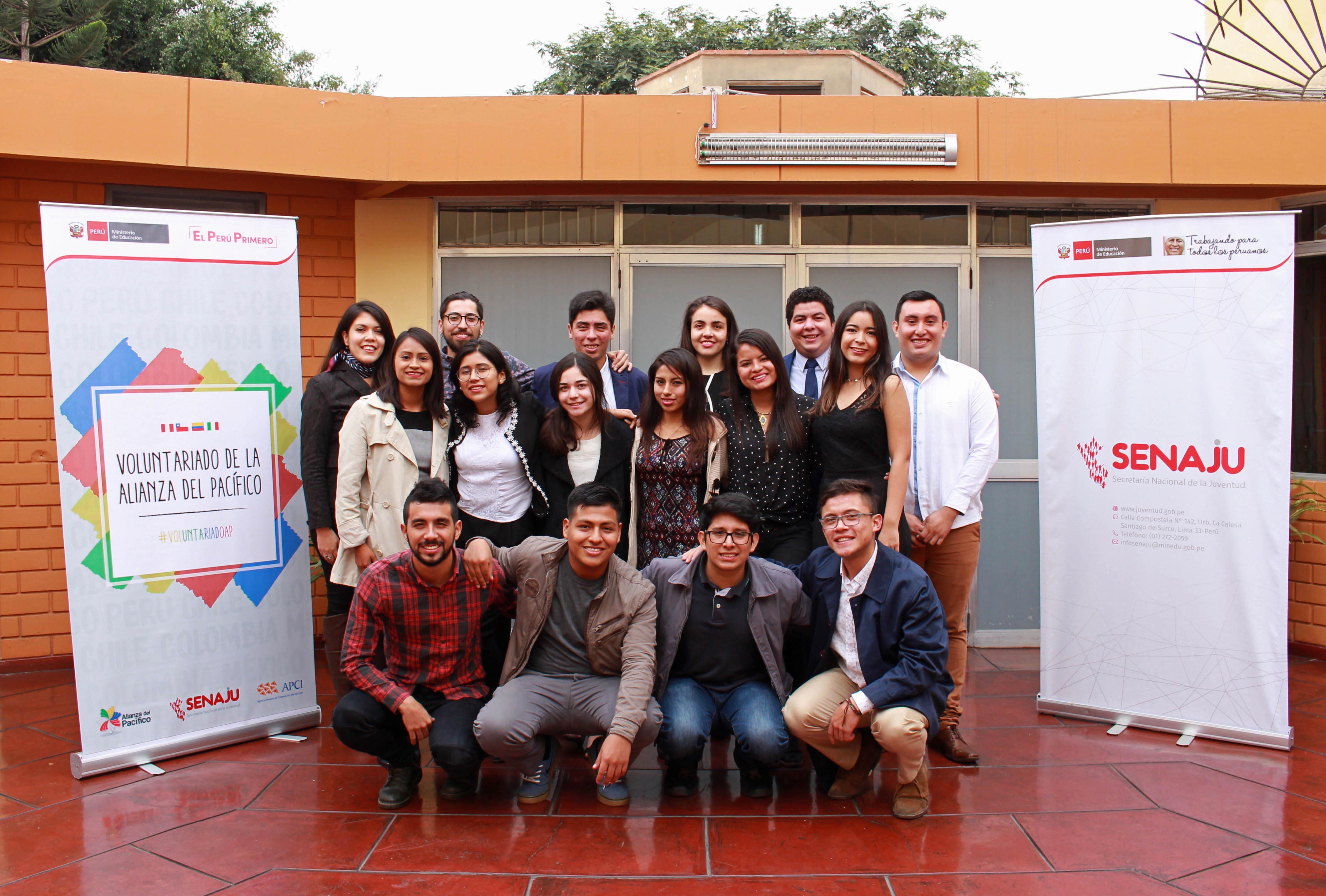 Se abre la convocatoria al Voluntariado Juvenil de la Alianza del Pacífico