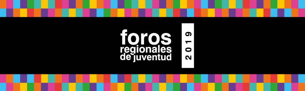 Foros regionales de juventud 2019