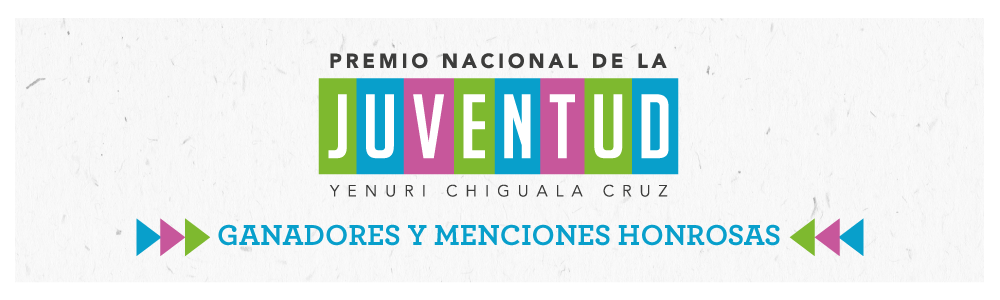 Ganadores premio Nacional de la Juventud 2019