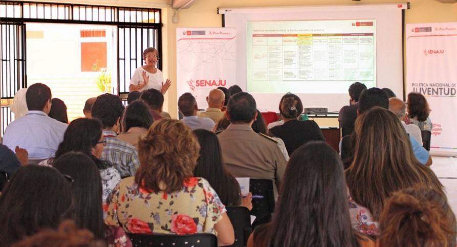 Senaju realiza primera reunión de trabajo para la implementación de la Política Nacional de Juventud