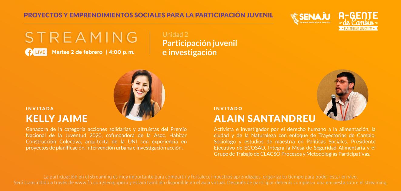 Jóvenes fortalecen sus conocimientos para la investigación en la gestión de proyectos y emprendimientos sociales.