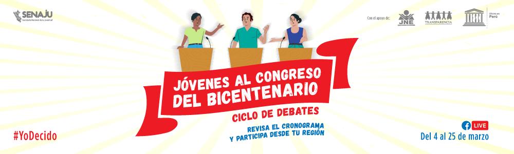 Jovenes al congreso del bicentenario